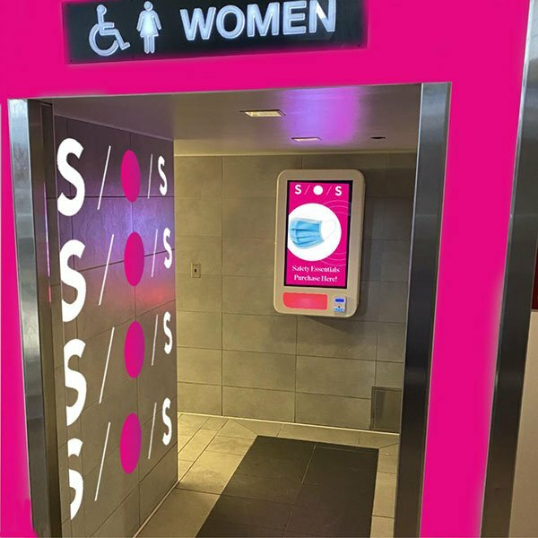 SOS Wall Machine - 'Modern Vending'