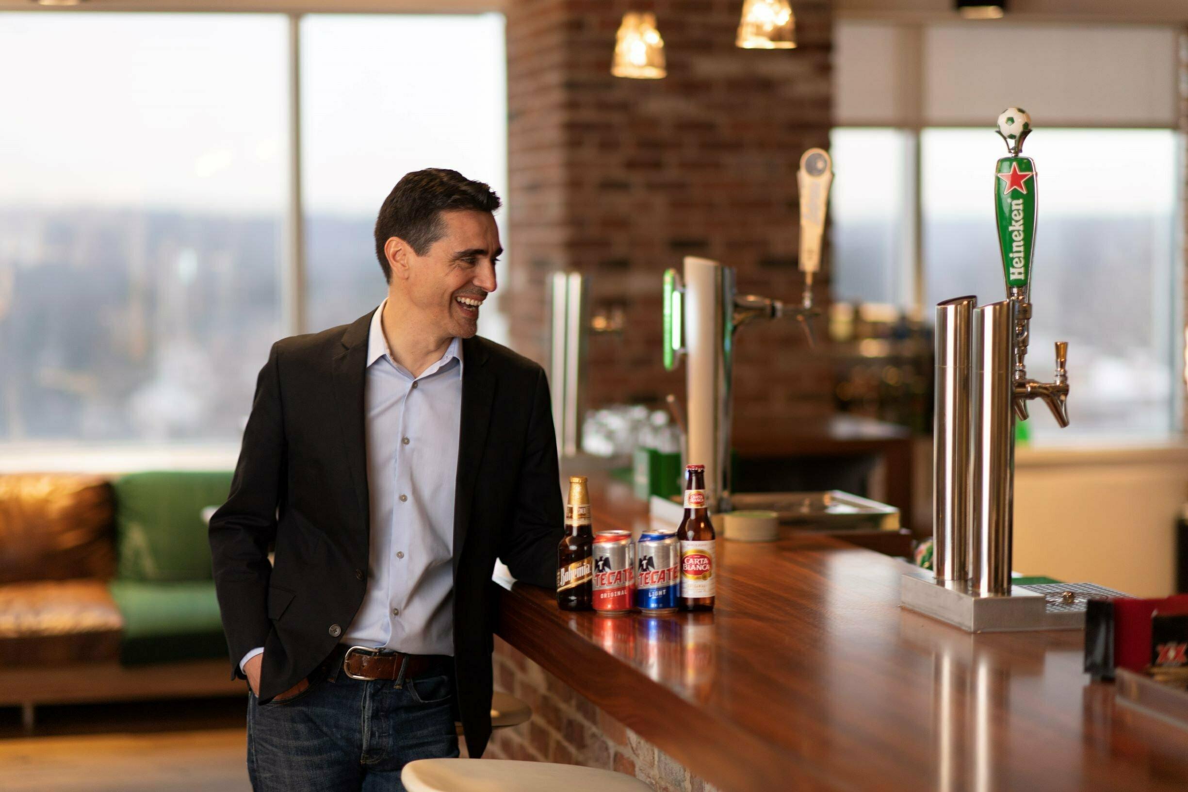 Tecate's new senior brand director Oscar Martinez