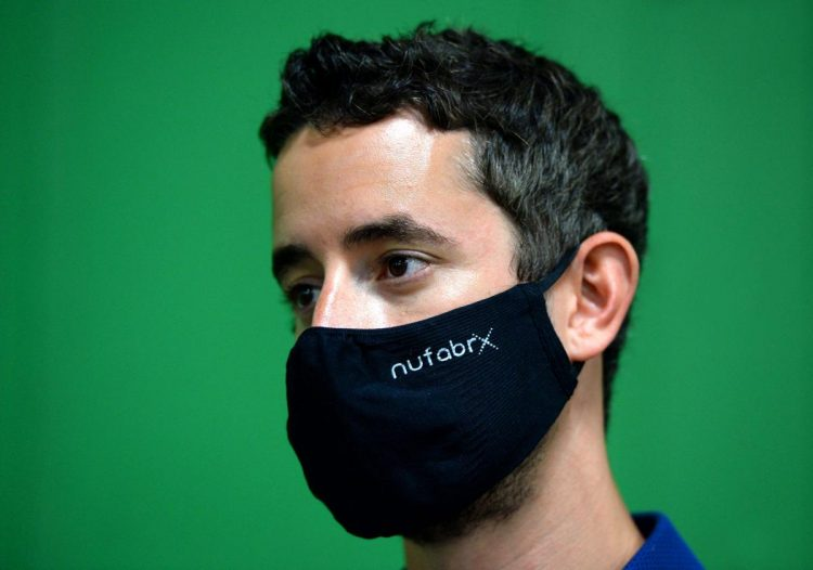 5f19f93ca7db7.image - Nufabrx CEO Jordan Schindler's anti-microbial, Shea-butter infused masks are such a hit that the Federal Government sent three Blackhawk helicopters to Schindler's facility to pick up a quarter-million masks.