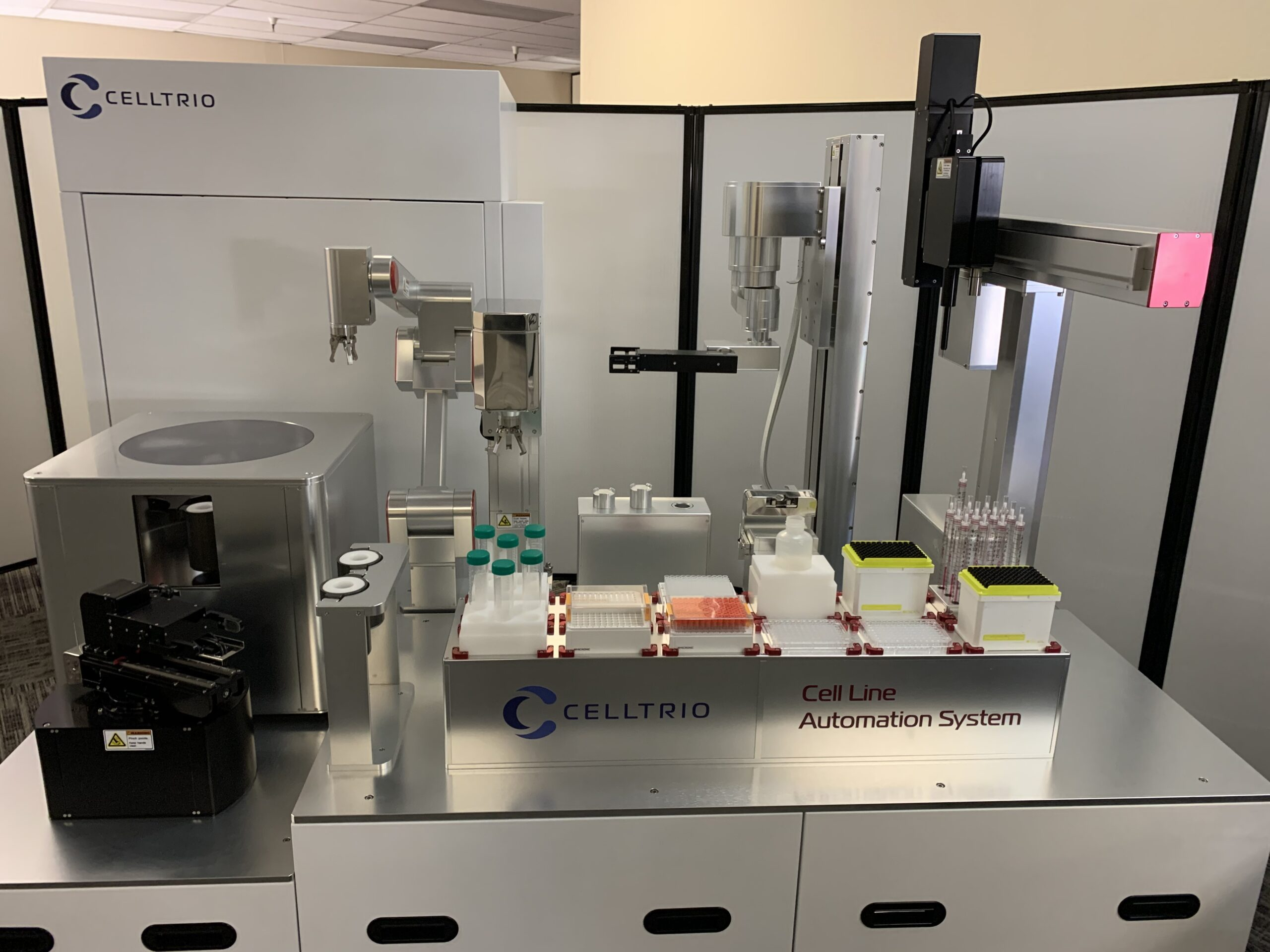 Celltrio is utilizing the design theory popularized in LEGO building sets to automate manual lab processes, such as raw cell division and harvesting cultured cells, for its growing customer base of pharmaceutical developers, universities, hospitals, and government and independent labs.