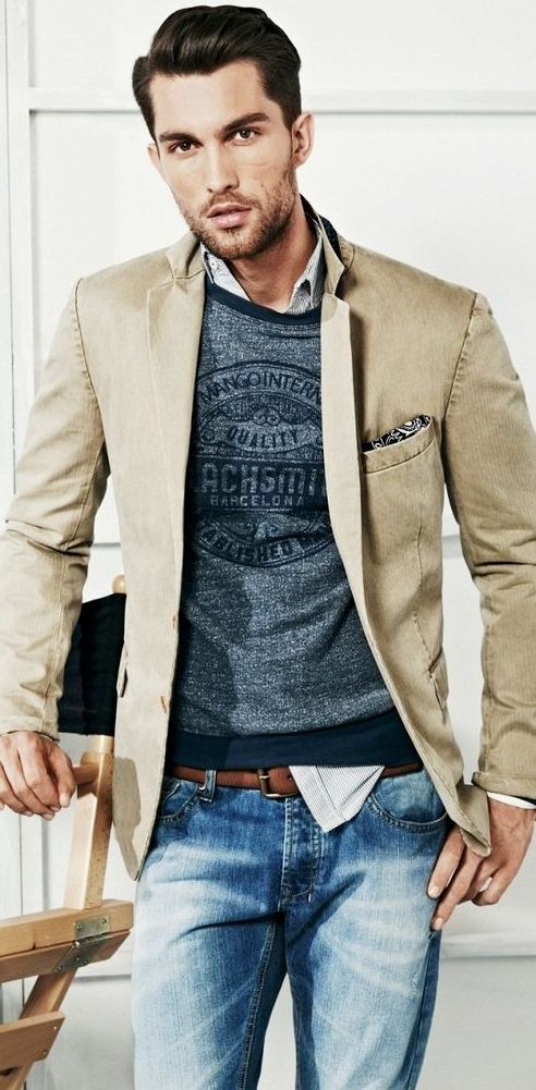 casual friday men outfits to try 15 - How to Make Your Clothing Stand Out in the Workplace