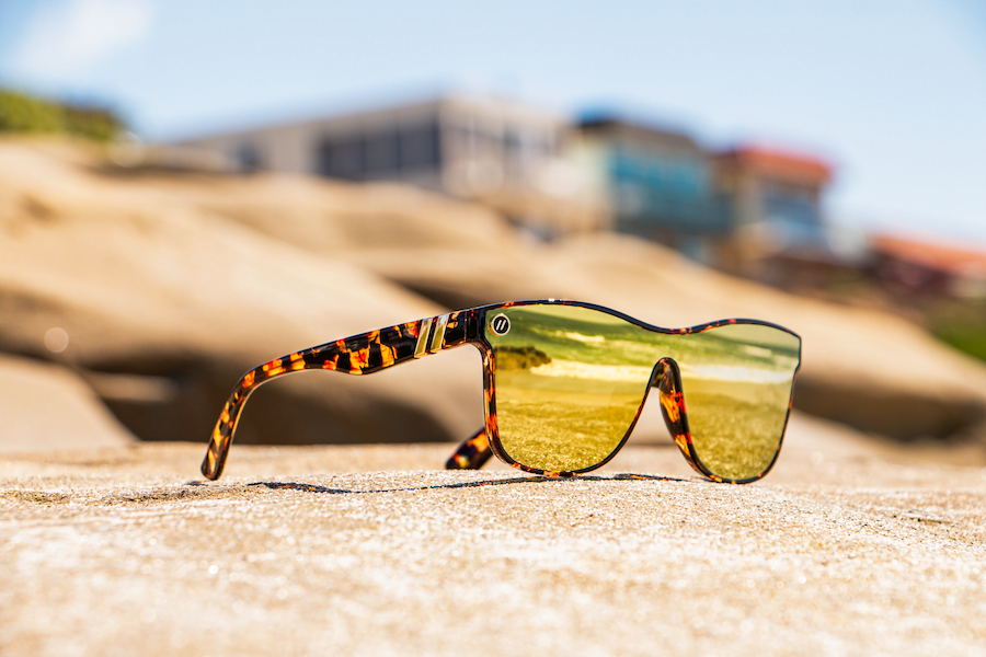 """I went to a nightclub and wore these neon-green sunglasses. Before long, the evening turned into a full-fledged session on sunglasses."" -- Chase Fisher"