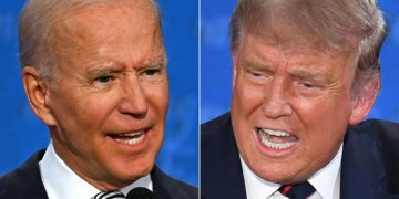 trump biden debate - GOLDEN TOUCH