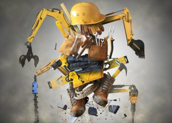 robots in construction - With COVID-19, Digital Transformation Plans are Accelerating