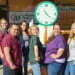 Minuteman Press Franchise Owner Peter Castorena and Team with Giant Minute Man