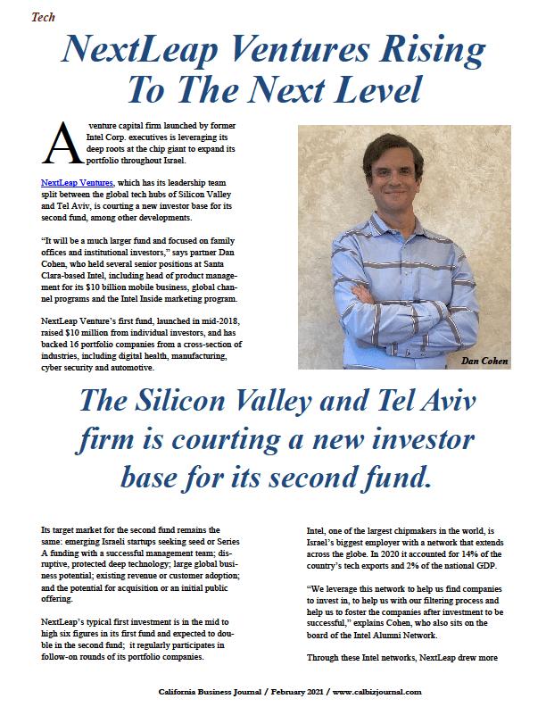 Dan Cohen, NextLeap Ventures1