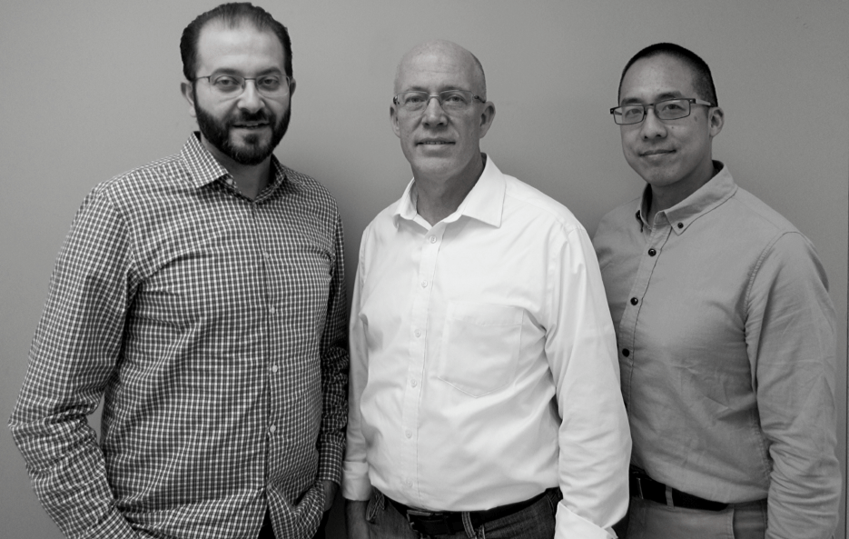 GattaCo Braintrust: Chief Science Officer Mahmoud Zubaidi, CEO Michael McNeely, Ph.D. and Director of Process Development Philip Luk