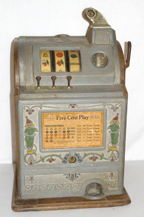 1-nickel in slot machine