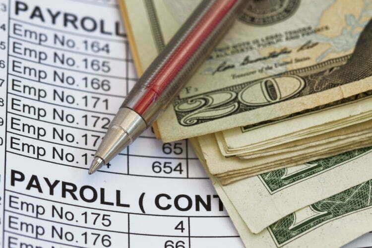 payroll expenditure or revenue