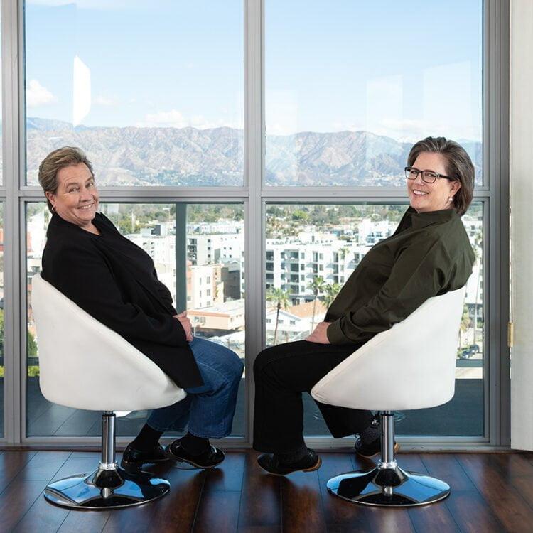 Dr. Theresa Ashby and Laura Neubauer. Photo Credit: Starla Fortunato