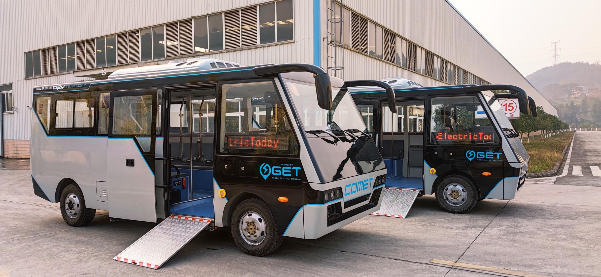 China Dynamics' electric minibus combat air pollution problems