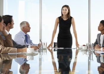 intense company meeting