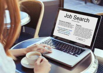 job search concept, find your career, online website