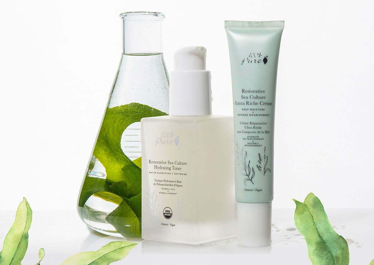 San Jose-based natural beauty brand, 100% Pure.