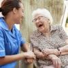 Woman With Caregiver