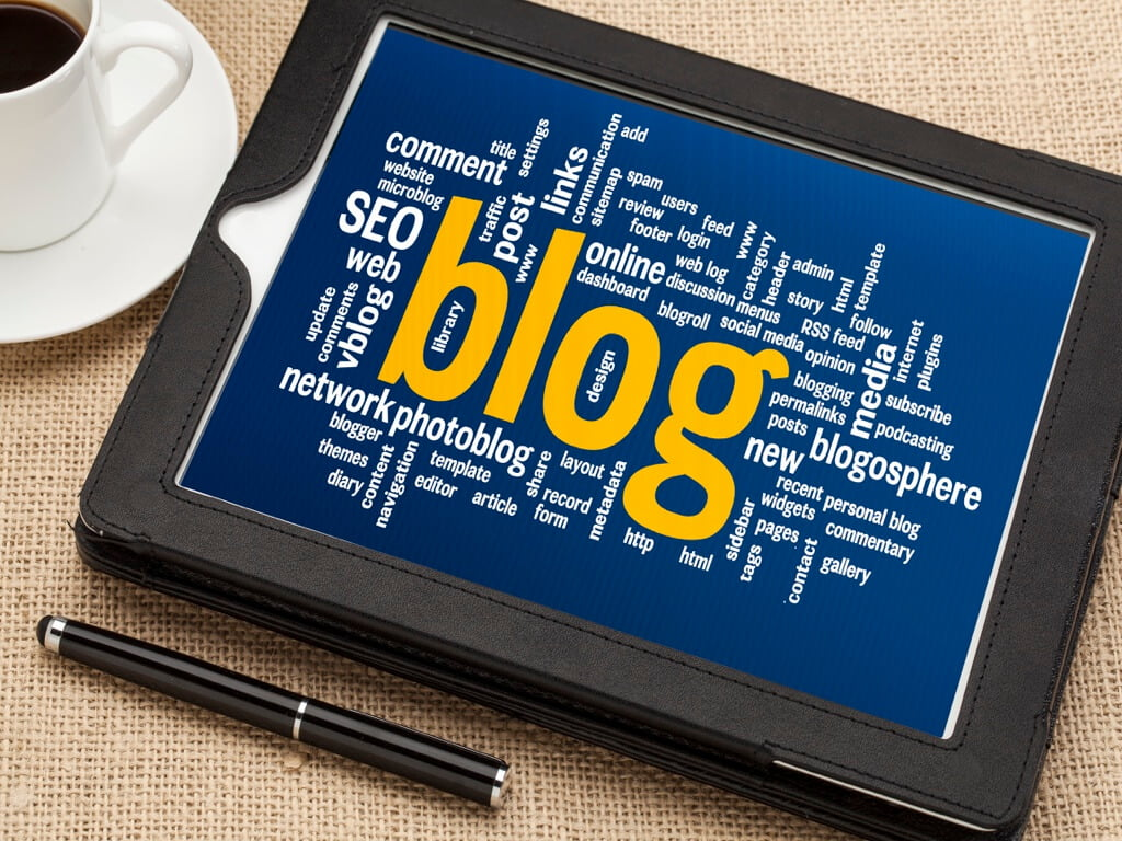 build a following with a blog