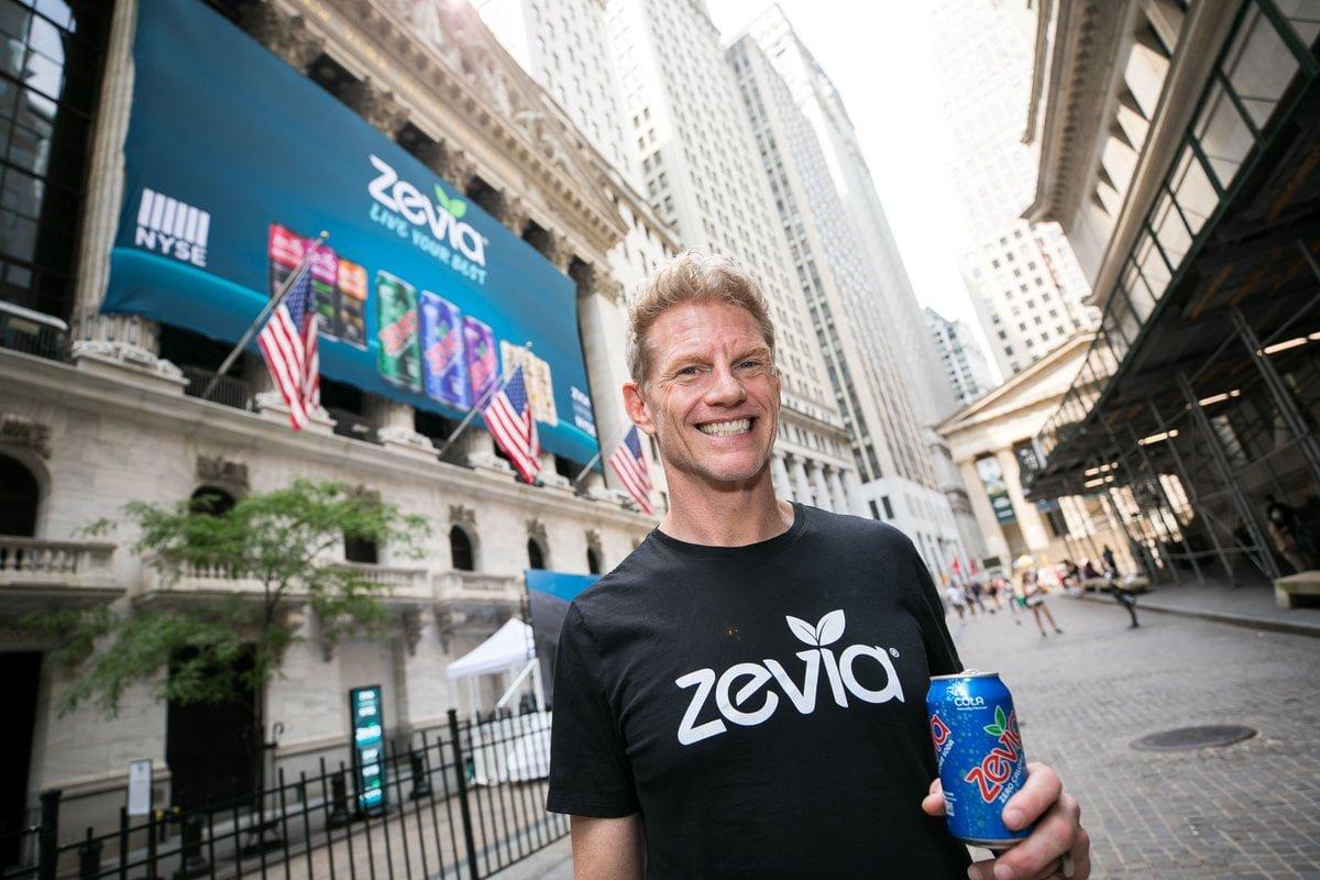 Paddy Spence, CEO, Zevia